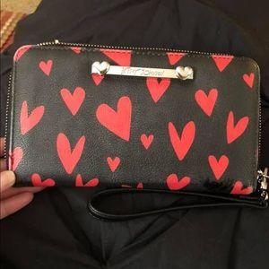 Betsey Johnson big wallet